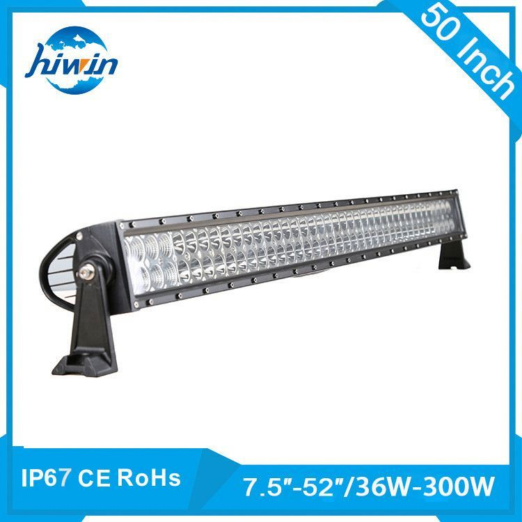 2017 promotion!Led light bar,spot/flood beam 288W curved/straight light bar manufacturers for all vehicle./
