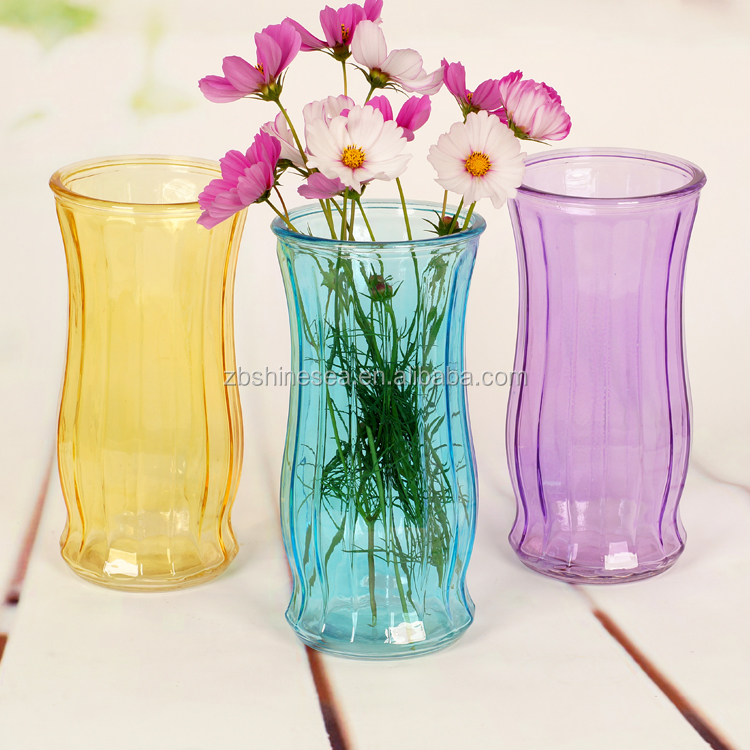 wholesale giant glass vase for flower arangment
