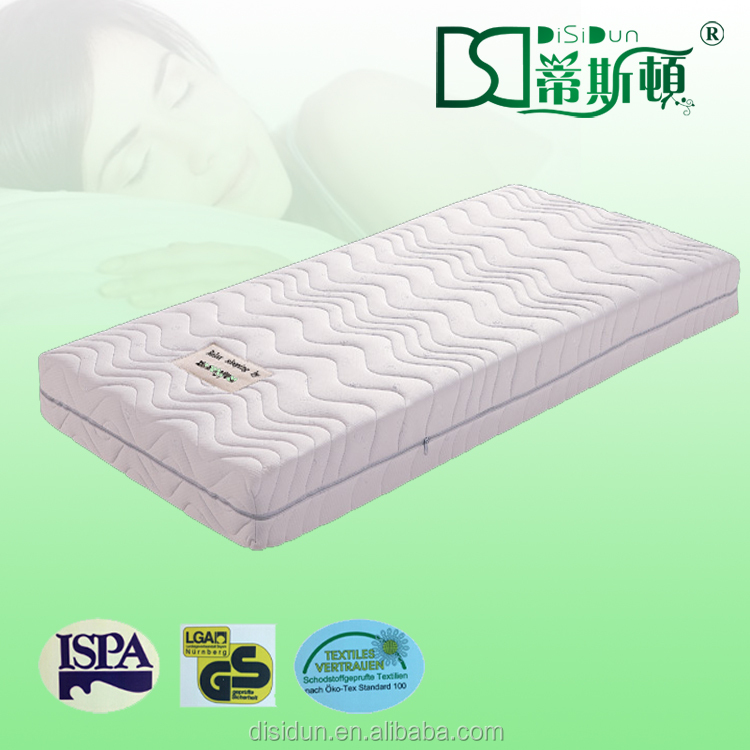 Sleeping Cheap Bed Sponge Mattress With Rolled Package