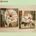 FG-00268 Handmade oil painting beautiful flower paintings