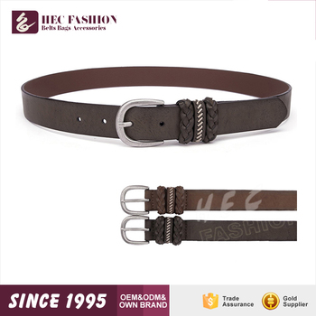 HEC Guangdong Fashion Accessories Factory Online Wholesale Best Sale Vintage LadiesLeather Belt