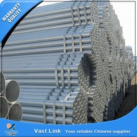 certificated gi pipe specification with low price