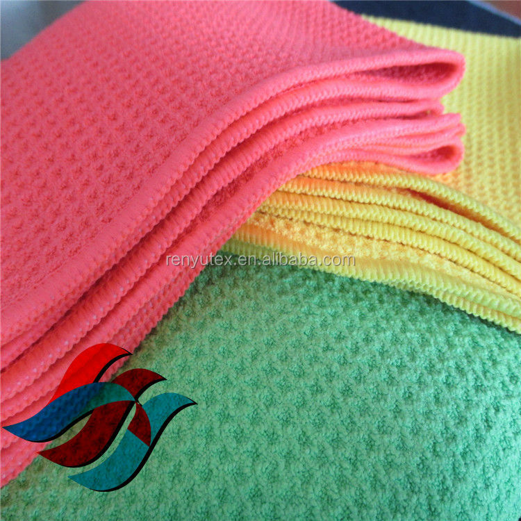 china supplier wholesale printed microfiber merbau fabric , golf towel