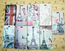 Cute case For iphone 5s Leather Stand wallet Case pouch filp fancy cover for apple iphone 5