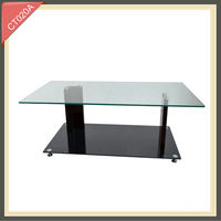 2014 glass dining living room furniture centre modern coffee table