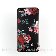 New for apple iphone 6S case Flower colored drawing TPU Phone accessory For apple iphone 6 case