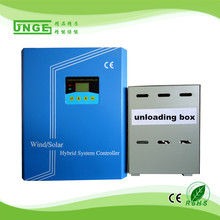 10kw 120v 240v 360v off- grid pwm charge wind solar hybrid controller with dump load LED &LCD pwm wind solar hybrid system