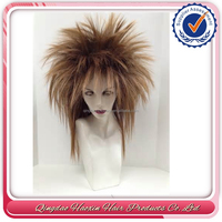 Howshine factory customer brazilian remy tina turner human hair wig