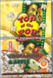 Top of the Pop Cinnamon and Apple Microwave Popcorn