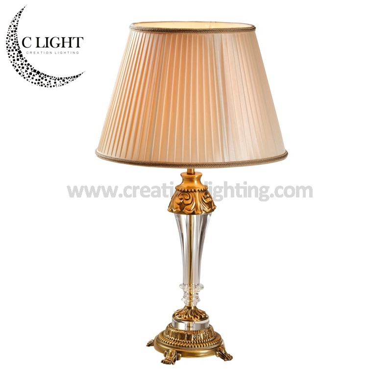 Antique Crystal Table Lamp Passed CE Wholesale Price Projects Like