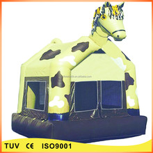 commercial prancing pony inflatable baby bouncer