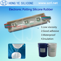 electronic components potting silicone potting PCB