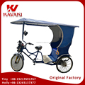 China Guangzhou Supplier Export Human Power 3 Wheel Passenger Tricycle Rickshaw Battery Assistance