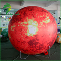 Factory Direct Sale Giant Sphere Planets Inflatable / Large Floating Inflatable Helium Air PVC Mars
