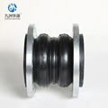 The Manufactional Double Sphere Flange Rubber Expansion Joints For Sale