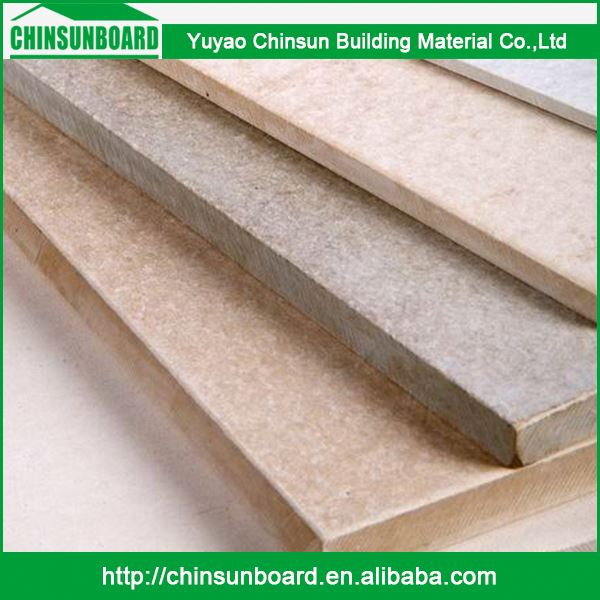 Superior Materials Moderate Price Waterproof Fireproof Cellulose Fiber Cement Siding For Decorative Interior Wall Board