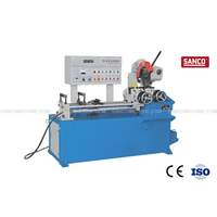 Pneumatic Feeding CNC Metal Tube Cutting