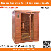 3 person japan and korea people loved sauna room dry with carbon heating KN-003B