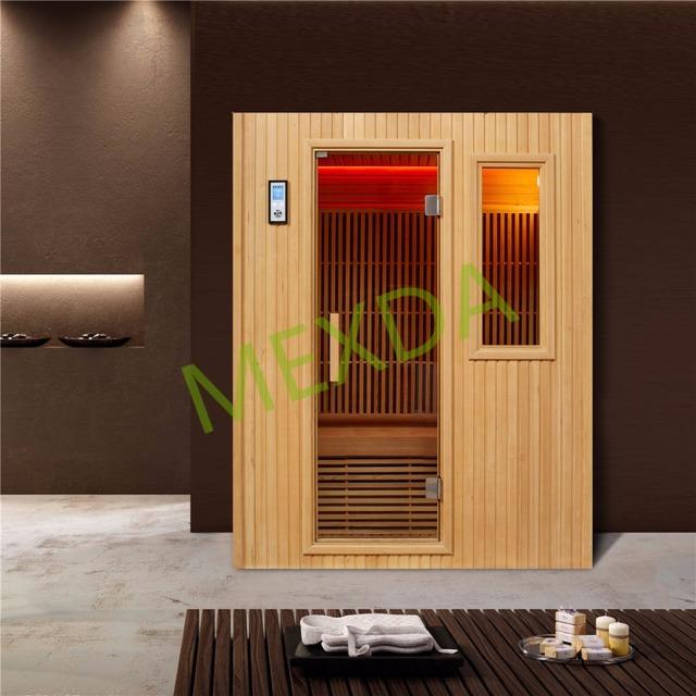 4 Person Far Infrared Dry Steam Sauna Room 7 Mica Heat Board WS-1603SR