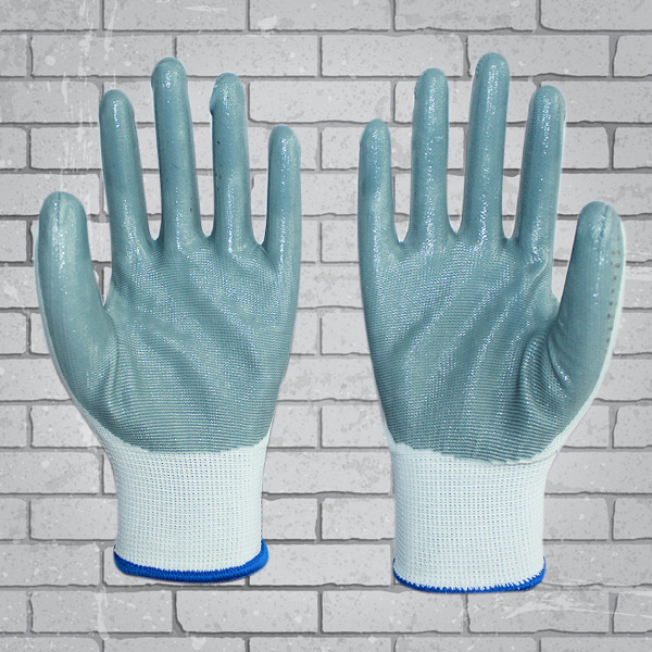 nitril gloves china nitrile coated gloves safety finger protection
