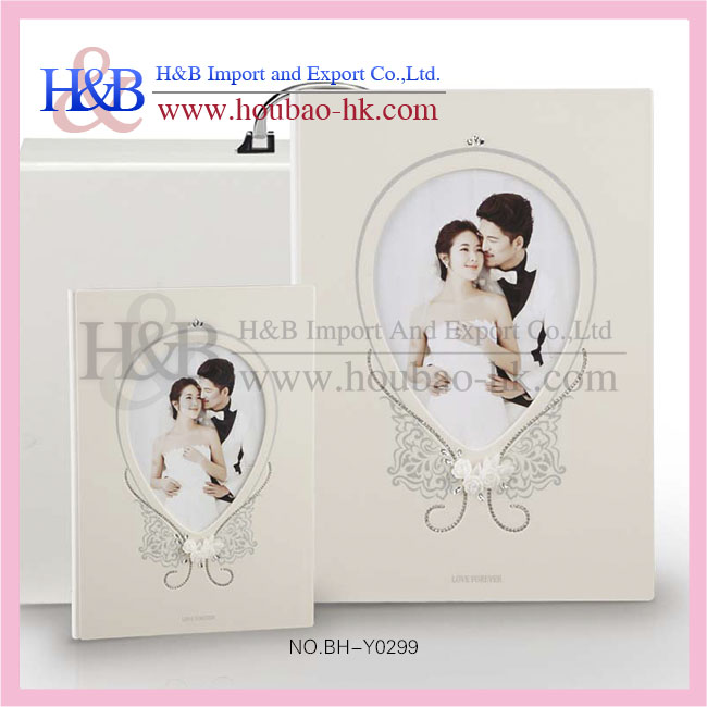 PVC Inner Sheet Painting Wedding Photo Book