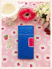 2015 alibaba china supplier candy color lather wallet shining leather money holder