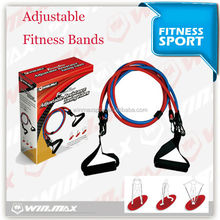 2015 Latex Strong Stretching Exercise Band for Gym,custom resistance band