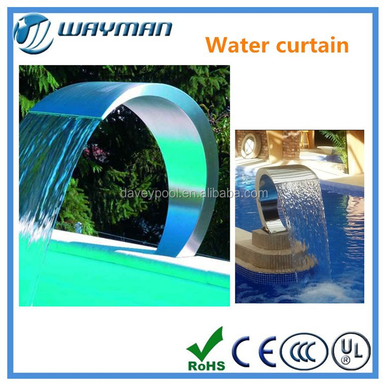 Swimming Pool Water Quality : Hight quality swimming pool water blade waterfall buy