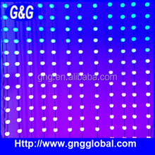 360 degree led curtain wall light for decorative stage background