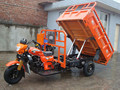 Tipper three wheel motorcycle