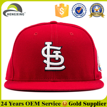 High Quality Flat Brim Red Snapback Size 9 Fitted Hats