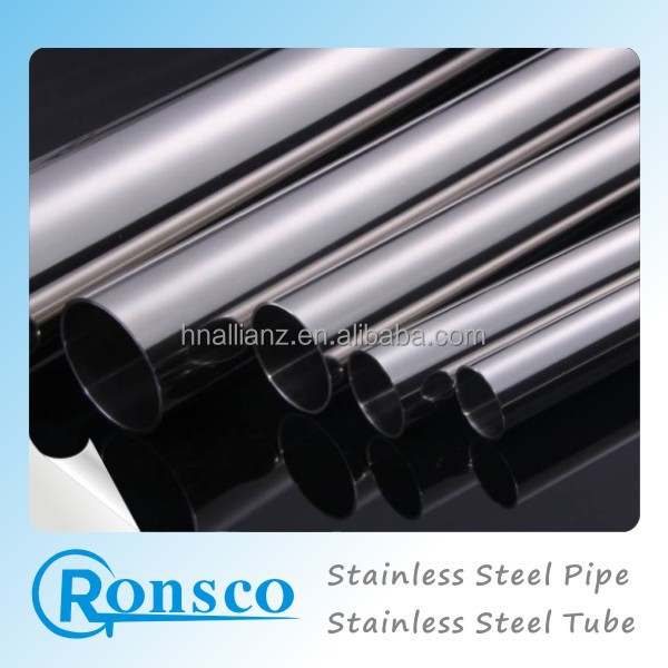 In Stock Stainless Steel, Mirror Stainless Steel Pipe/tube,Round,Square,Rectangular 201 304 Pipe