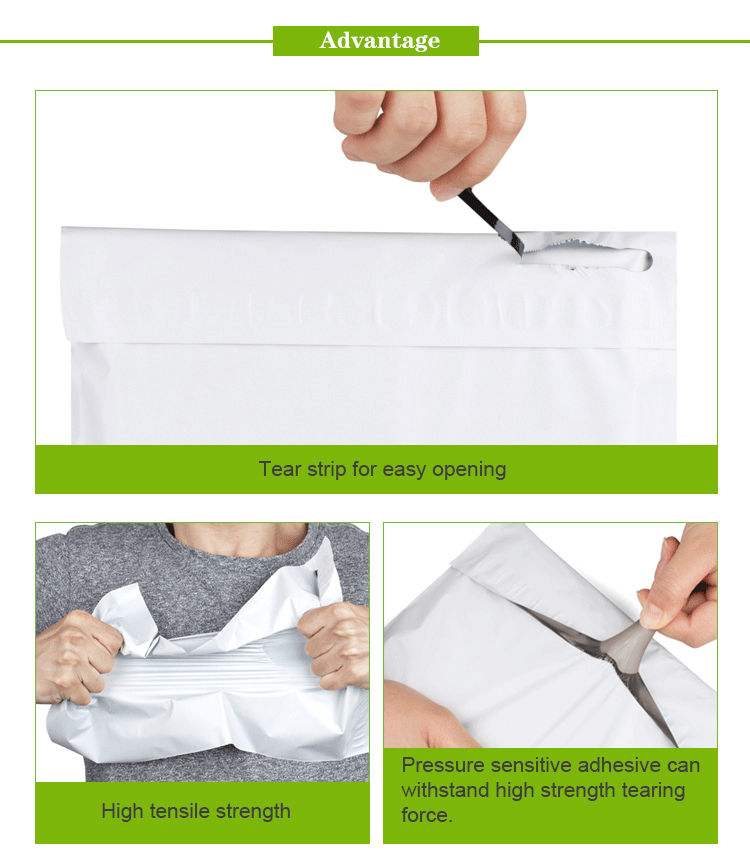 Alibaba design your own customizable plastic poly bag packaging