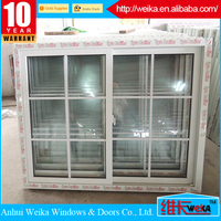 100% PVC grills profiles Length customized for window or door main gate grill design home garden fence