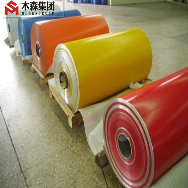 Colored PVDF PE metallic aluminum foil for roofing sandwich panel