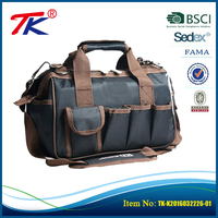 Professional design high quality multifunctional tool storage bags with exterior pockets