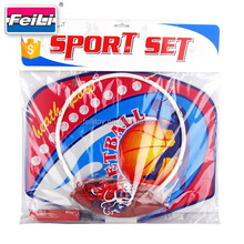 promotional sport game toys customize mini basketball hoop with ball