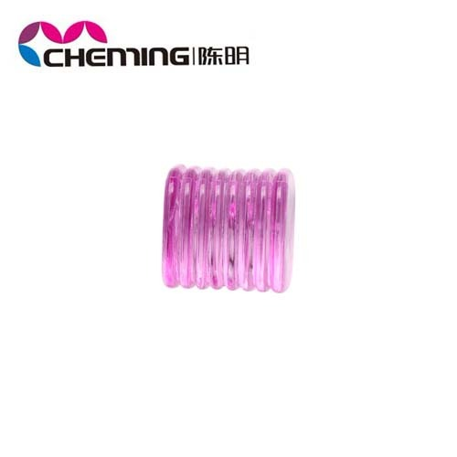2014 new design colorful crystal plastic pony beads