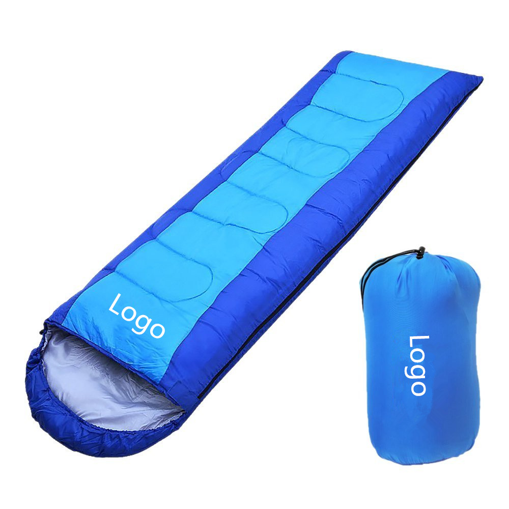 Woqi Adult Portable Wholesale Cheaper Cotton Envelope Goose Down Sleeping Bag