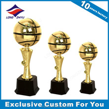 Resin trophy cup awards for sports game