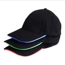 2015 Hot Sale Fashion Sports LED Lighting Cap,Baseball Caps With Led Lights,Led Light Up Hat