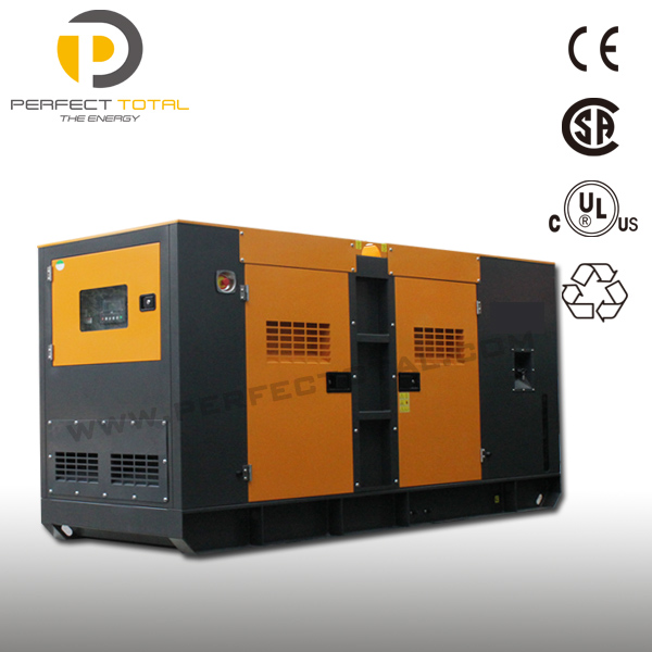 200KW / 250KVA diesel generator set with USA brand engine