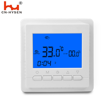 digital temperature controller heating adjustable house thermostat and digital temperature sensor