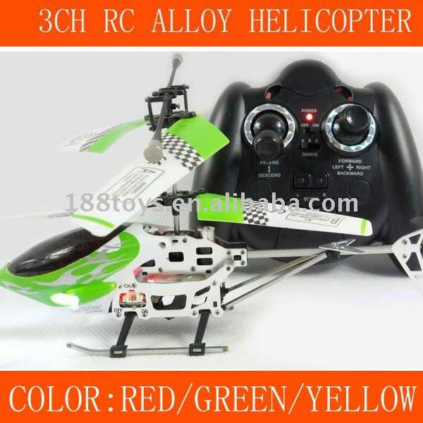 3CH RC MINI HELICOPTER WITH GYRO&USB