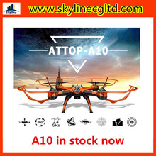 RC drone A10 2.4G 4ch Professional RC quadcopter with Altitude hold RC Drone Kit