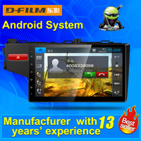 10.1 inch Android touch screen car dvd player car with GPS navigation for Honda fit, car dvd player manufacturer from China