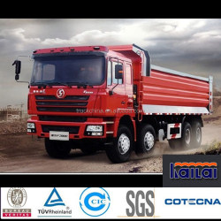 Shacman 8x4 dump truck right hand drive/left hand drive tipper truck