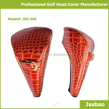 Driver Golf Head Cover with Alligator Embossing