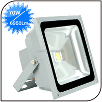 Outdoor warranty 2 year 86-265V 6000k IP68 Epistar high efficiency 70w high intensity led flood lights