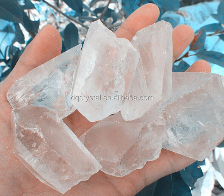 Wholesale natural rock clear crystal quartz raw rough for sale